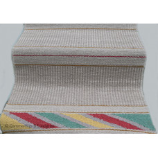"Handwoven Rag-rug "" Play of colors"""